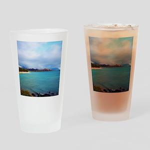 Kailua Beach Hawaii Drinking Glass