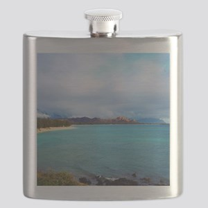 Kailua Beach Hawaii Flask