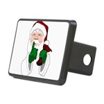 Santa Clause Christmas Hitch Cover