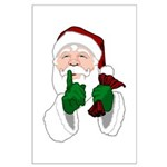 Santa Clause Christmas Posters