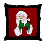 Santa Clause Christmas Throw Pillow