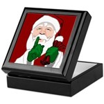 Santa Clause Christmas Keepsake Box