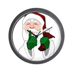 Santa Clause Christmas Wall Clock