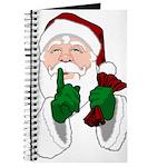 Santa Clause Christmas Journal