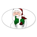 Santa Clause Christmas Sticker