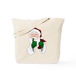 Santa Clause Christmas Tote Bag