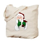Santa Clause Christmas Tote Bag