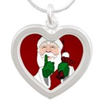 Santa Clause Christmas Necklaces