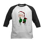 Santa Clause Christmas Baseball Jersey