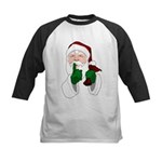 Santa Clause Christmas Baseball Jersey