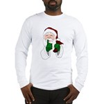 Santa Clause Christmas Long Sleeve T-Shirt
