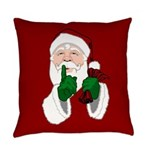 Santa Clause Christmas Everyday Pillow
