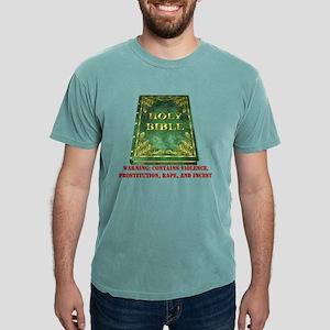 Bible Warning Mens Comfort Colors® Shirt
