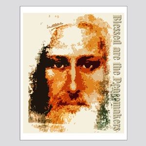 Blessed are the Peacemakers Small Poster