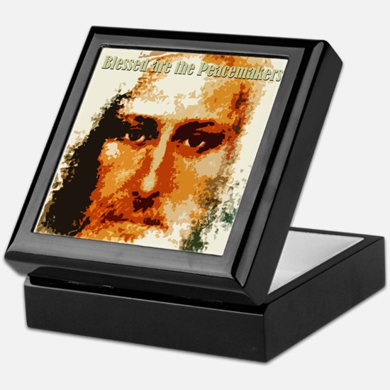 Blessed are the Peacemakers Keepsake Box