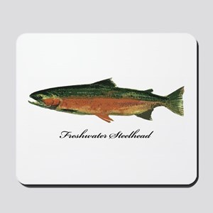 Freshwater Steelhead Trout Mousepad