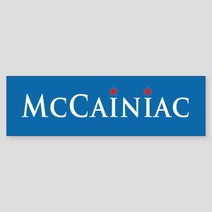 McCainiac Bumper Sticker