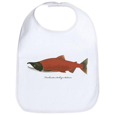 Sockeye Salmon Bib
