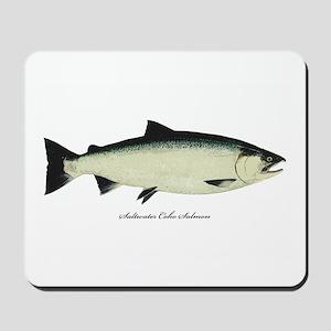 Coho Silver Salmon Mousepad