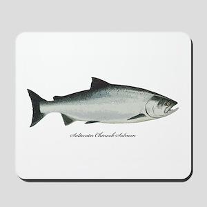 Chinook King Salmon Mousepad