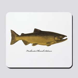 Chinook King Salmon Mousepad