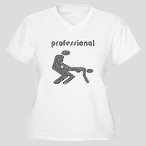 Professional F*cker Women's Plus Size V-Neck T-Shi