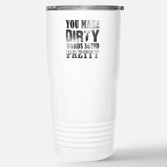 DIRTY WORDS Stainless Steel Travel Mug