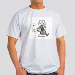 French Horn Cat Light T-Shirt