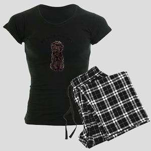 Good Affenpinscher Women's Dark Pajamas