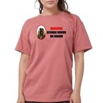 Afghan Hound Womens Comfort Colors® Shirt