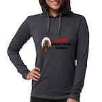Afghan Hound Womens Hooded Shirt