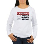 Afghan Hound Women's Long Sleeve T-Shirt