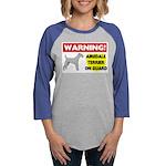 Airedale Terrier Womens Baseball Tee