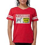 Airedale Terrier Womens Football Shirt