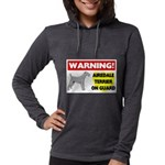 Airedale Terrier Womens Hooded Shirt
