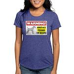 Airedale Terrier Womens Tri-blend T-Shirt
