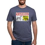 Airedale Terrier Mens Tri-blend T-Shirt