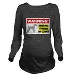 Airedale Terrier Long Sleeve Maternity T-Shirt