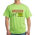 Airedale Terrier Green T-Shirt