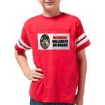 Alaskan Malamute Gifts Youth Football Shirt