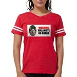 Alaskan Malamute Gifts Womens Football Shirt