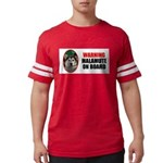 Alaskan Malamute Gifts Mens Football Shirt