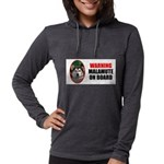 Alaskan Malamute Gifts Womens Hooded Shirt