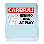 American Eskimo Dog Gifts baby blanket