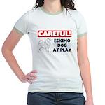 American Eskimo Dog Gifts Jr. Ringer T-Shirt