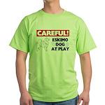 American Eskimo Dog Gifts Green T-Shirt