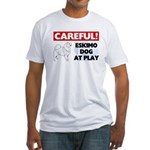 American Eskimo Dog Gifts Fitted T-Shirt