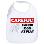 American Eskimo Dog Gifts Cotton Baby Bib