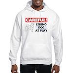 American Eskimo Dog Gifts Hooded Sweatshirt