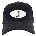 American Foxhound Party Black Cap with Patch